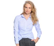 Bluse, blau/weiß, Damen
