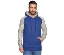 Sweatshirt blau/grau meliert