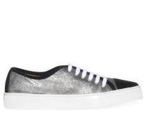 Sneaker, silber/schwarz, Damen