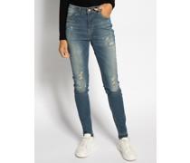 Jeans Amy blau