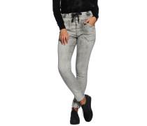 Sweat Jeans, hellgrau, Damen