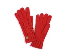 Handschuhe, rot, Damen