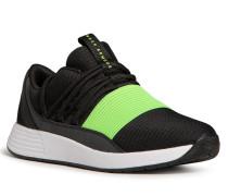 Sneaker schwarz/neongrün
