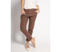 Jeans Straight braun