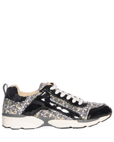 Sneaker mehrfarbig/schwarz