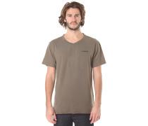 Dri-Fit Corporate V Neck - T-Shirt für Herren - Grün