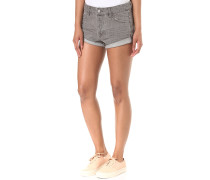 Stoned Rolled - Shorts für Damen - Grau