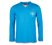 Ilias - Langarmshirt für Jungs - Blau