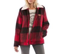 Lost In The Wood - Funktionsjacke für Damen - Rot