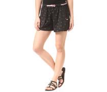 Baggy - Shorts für Damen - Schwarz