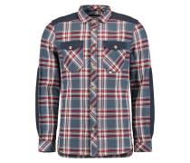 Vintage Flannel - Hemd für Herren - Blau