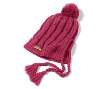 Allee Earflap - Mütze für Damen - Pink