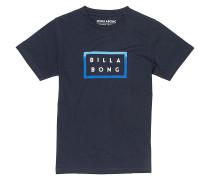 Border Die Cut - T-Shirt für Jungs - Blau