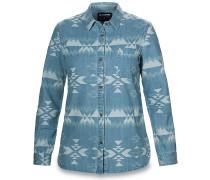 Ezra - Hemd für Damen - Blau