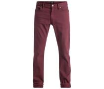 Straight Colour - Jeans für Herren - Rot