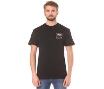 Side Stripe II - T-Shirt für Herren - Schwarz