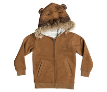 Bear - Kapuzenjacke für Jungs - Braun