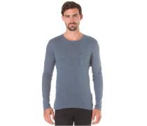 Shhmilo - Langarmshirt für Herren - Blau