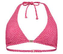 Halter - Bikini Oberteil für Damen - Rot