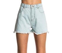 Hot Shot Denim - Shorts für Damen - Blau