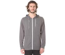 Core Basics Knit - Kapuzenjacke für Herren - Grau