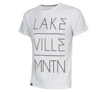 Big Letter - T-Shirt für Herren - Weiß