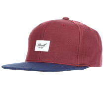 Pitchout 6-Panel Snapback Cap - Rot