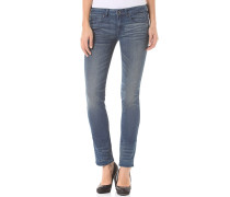 Mid Mid Straight Frakto Superstretch - Jeans für Damen - Blau