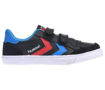 Stadil Junior Lthr Low Sneaker - Schwarz