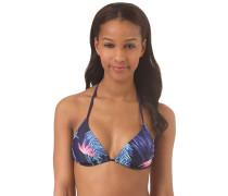 Tiki - Bikini Oberteil für Damen - Blau