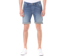 Shpep Lt Knit Denim - Shorts für Herren - Blau