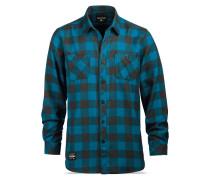 Mens Underwood Flannel - Hemd für Herren - Blau