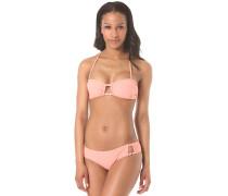 Bandeau/Scooter - Bikini Set für Damen - Pink