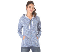 Lived In S/D - Sweatjacke für Damen - Blau