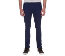 2x4 5 Pocket Twill - Stoffhose für Jungs - Blau
