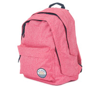 Solid Double Dome - Rucksack für Damen - Pink