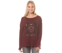 Magical Winter - Strickpullover - Rot