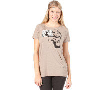 Missfitz T-Shirt - T-Shirt für Damen - Beige