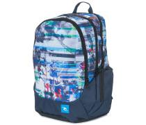 Trischool Ocean Glitch - Rucksack für Herren - Blau