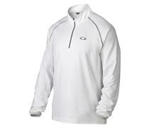 Theo 1/4 - Langarmshirt für Herren - Weiß