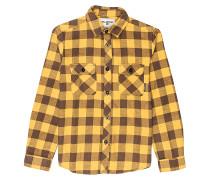 All Day L/S - Hemd für Jungs - Gelb