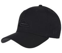 M & W Black - Snapback Cap für Herren - Schwarz