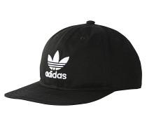 Trefoil Snapback Cap - Schwarz