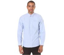 Button Down Pocket L/S - Hemd für Herren - Blau