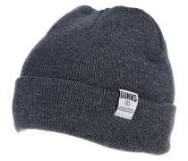 RBB Basic MelangeMütze Grau