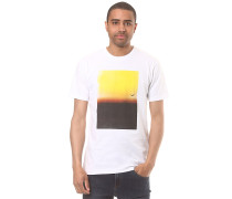 Fade to Yellow - T-Shirt - Weiß