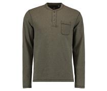 Jacks Base Henley - Langarmshirt für Herren - Grün