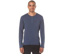 Jack's Base Henley - Langarmshirt für Herren - Blau