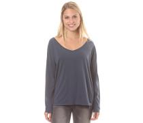 Essential - Langarmshirt für Damen - Blau