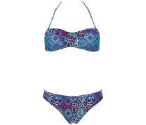 Ivette Triangle - Bikini Set für Damen - Blau